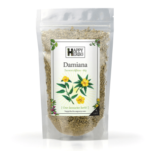 Damiana 60g Turnera aphrodisiaca - Happy Herb Co