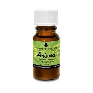 100% Aniseed Essential Oil, Pimpinella Anisum 10ml - Black Sheep Farm