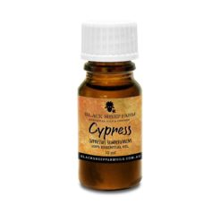 100% Pure Cypress Essential Oil, Cupressus Sempervirens 10ml - Black Sheep Farm