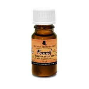 100% Pure Fennel Essential Oil, Foeniculum Vulgare 10ml - Black Sheep Farm