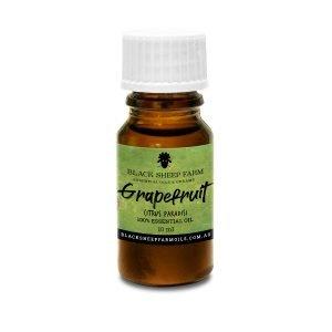 100% Grapefruit Essential Oil, Citrus Paradisi 10ml - Black Sheep Farm