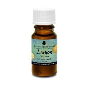 100% Pure Lemon Essential Oil, Citrus Limon 10ml - Black Sheep Farm DO NOT TAKE INTERNALLY