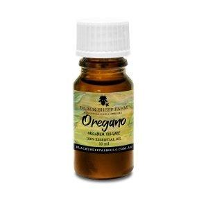 100% Oregano Essential Oil, Origanum Vulgare 10ml - Black Sheep Farm