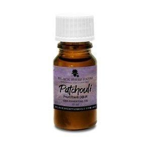 100% Patchouli Oil, Pogostemon Cablin 10ml - Black Sheep Farm