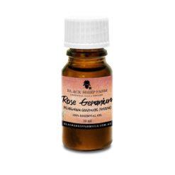 100% Pure Rose Geranium Essential Oil, Pelargonium Graveolens (roseum) 10ml - Black Sheep Farm