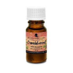 100% Pure Sandalwood Essential Oil, Amyris Balsamifera 10ml - Black Sheep Farm
