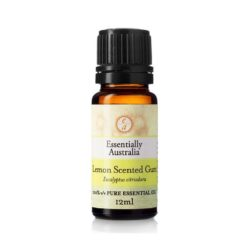 Eucalyptus Lemon Scented Gum Essential Oil 12ml - Essentially Australia