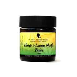Hemp & Lemon Myrtle Balm 30ml - Black Sheep Farm