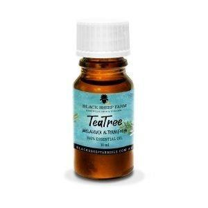 100% Pure Tea Tree Essential Oil, Melaleuca Alternifolia 10ml - Black Sheep Farm
