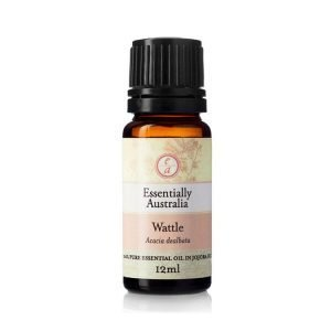 Wattle Essential Oil 3% Absolute in Jojoba Oil 12ml - Essentially Australia