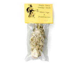 Smudge Stick Sage Frankincense Small - Magic Aura Smudge Sticks