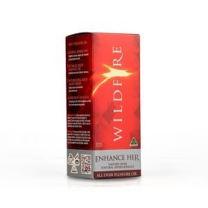 All Over Pleasure Oils 100ml – Enhance Her - Wildfire