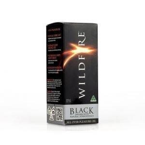 All Over Pleasure Oils 100ml – Black - Wildfire