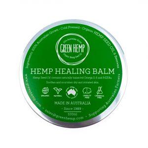Green Hemp Healing Balm 100ml