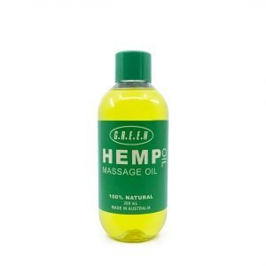 Green Hemp Massage Oil 200ml