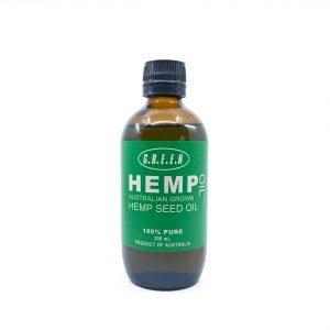 Green Hemp Pure Hemp Seed Oil 200ml