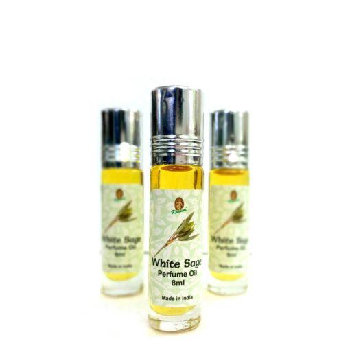 Kamini Perfume Oil WHITE SAGE 8ml