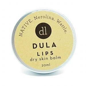 DULA LIPS NATIVE Dry Skin Balm, Nerolina, Wattle