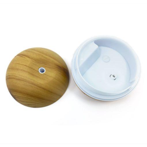Aryya Aromatherapy Ultrasonic Mini Orb Diffuser WOOD GRAIN