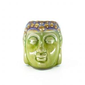 Ceramic Oil Burner BUDDHA HEAD