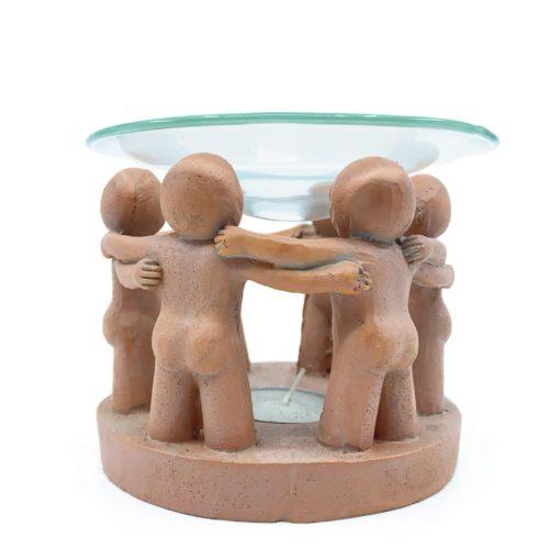 Circle of Friends Oil Burner Terracotta