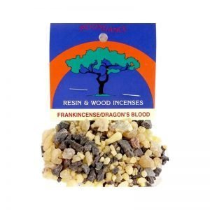 Frankincense and Dragons Blood Mix 20g - Moondance Incense