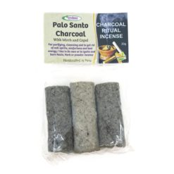 Palo Santo Charcoal Myrrh Copal - Andess