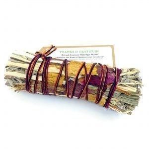 Thanks & Gratitude Smudge Stick - With Good Intentions