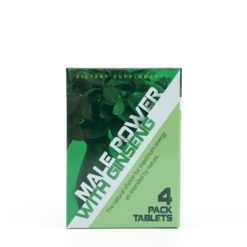 Male Power with Ginseng 4 pack