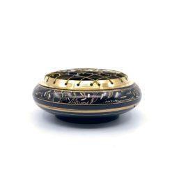 Charcoal Burner Brass Flat BLACK ETCHED