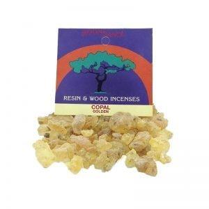 Resins Golden Copal Granules 30g - Moondance Incense
