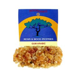 Resins Gum Arabic Granules 25g - Moondance Incense