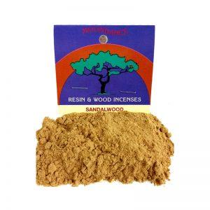 Resins Sandalwood Powder 25g - Moondance Incense
