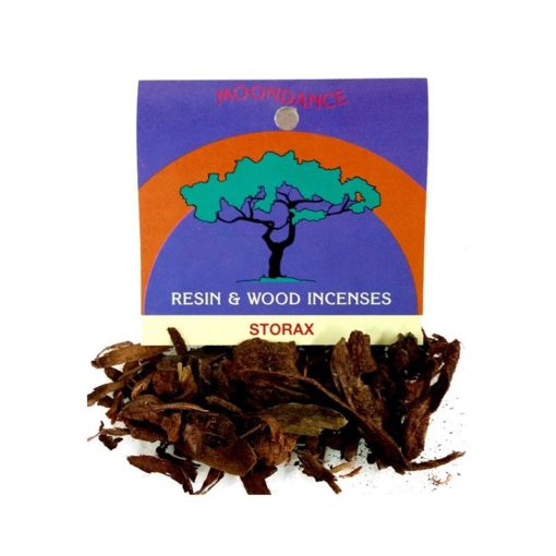 Resins Storax Bark 2g - Moondance Incense