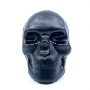 Skull Large Black/Red Candle - Nimbin Candles