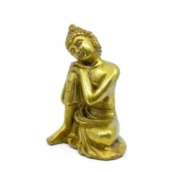 Thinking Buddha Brass