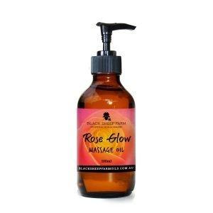 Rose Glow Massage Oil 100ml - Black Sheep Farm