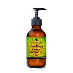 Soothing Cedar Massage Oil 100ml - Black Sheep Farm