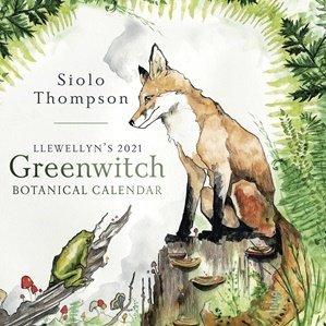 2021 Llewellyn Greenwitch Botanical Calendar