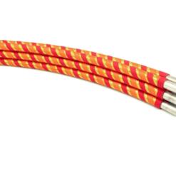 Collapsible Hula Hoop Travel Orange Stripe