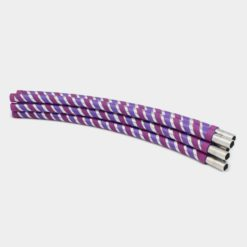 Collapsible Hula Hoop Travel Purple Stripe