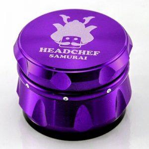 Grinder Headchef Samurai Grinder 55mm 4 Part - Purple