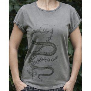 Serpent Lyfe - Organic Cotton Female T'Shirt