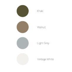Izwoz T-shirts Colour Chart