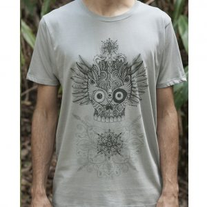 Winged Skull - Organic Cotton Male T'Shirt