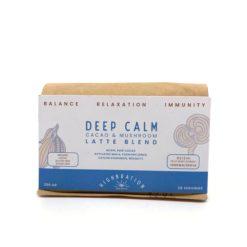 Deep Calm Cacao & Mushroom Latte Blend 200g - Highbration Organics