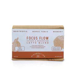 Focus Flow Cacao Mushroom Blend 200g - Highbration Organics