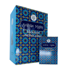 Sacred Tree Backflow Incense Cones ARABIAN NIGHTS