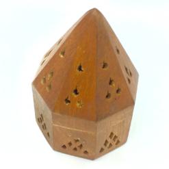 CONE HOLDER Wooden PYRAMID BOX Small