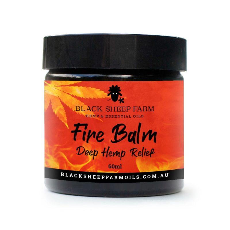 Hemp Fire Balm 60ml - Black Sheep Farm